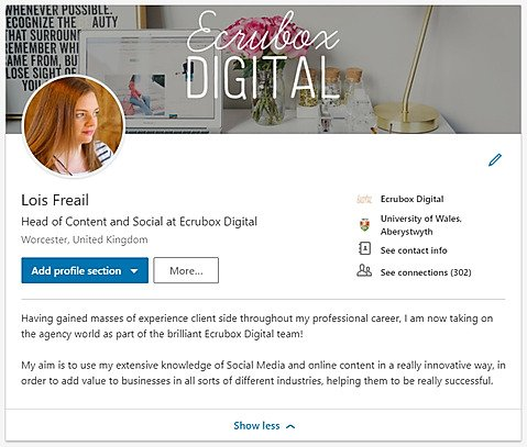 How to build an all-star LinkedIn profile 6