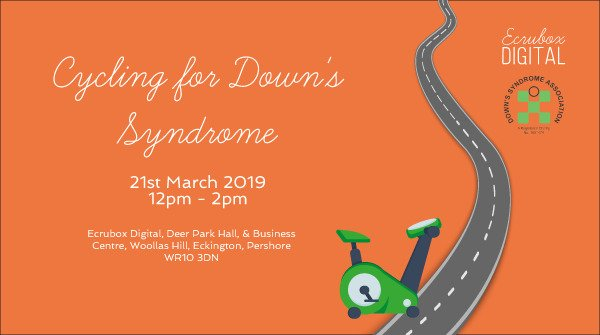 #TeamEcrubox get on their bike for Down's Syndrome Association 2