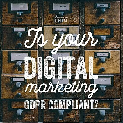 What impact will the upcoming GDPR legislation have on digital marketing? 2